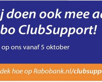 Popkoor Puur! doet mee met Rabo Club Support!